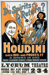 Houdini spiritualism