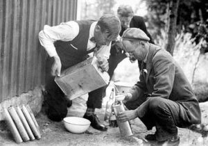 making moonshine during Prohibition