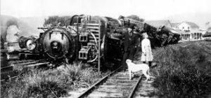 train after earthquake