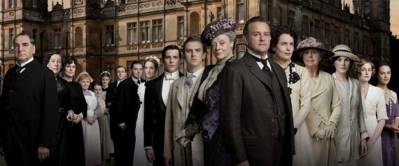 Social separation in Downton