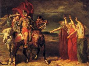 Macbeth AndBanquo-Witches